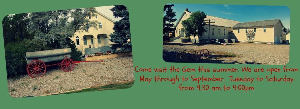 Make the Gem of the West Museum a stop when traveling through Southern Alberta.